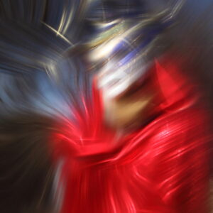 "MASK SERIES ""REDWOMANWITHTHEBLUEMASK I"", 2020"