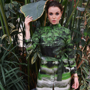 Jungle Silk Dress ARTROCKS BY MANIK