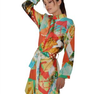 Transformation Silk Dress ARTROCKS BY MANIK