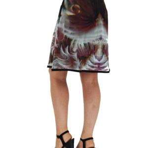 Underwater Love Silk Chiffon Skirt ARTROCKS BY MANIK
