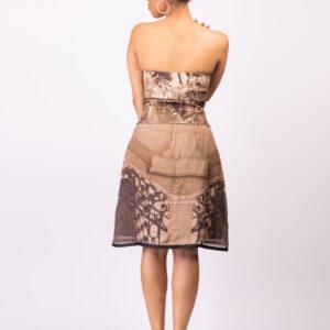 Muse Silk Chiffon Skirt ARTROCKS BY MANIK