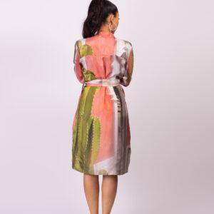 Panarea Silk Dress ARTROCKS BY MANIK