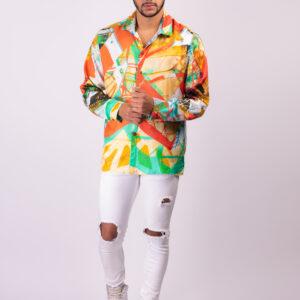 Transformation Silk Shirt ARTROCKS BY MANIK